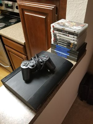Ps3 with 13 games for Sale in Allen, TX