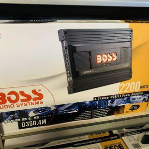 Boss 2200 4 Channel Amplifier for Sale in San Bernardino, CA