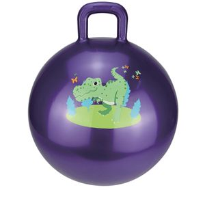 Rigma Hopper Ball - Bouncy Ball With Handle - Air Pump Included - | Indoor / Outdoor Toy, Balance / Jumping Balls, Hippity Hop | Ages 3+ for Sale in Henderson, NV