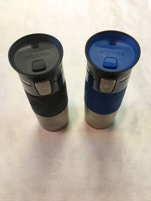 Contigo Autoseal Stainless Steel Vacuum Mug for Sale in Daniels, MD