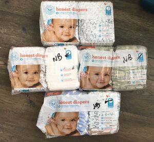 Honest Company newborn and size 1 diapers for Sale in Cedar Park, TX