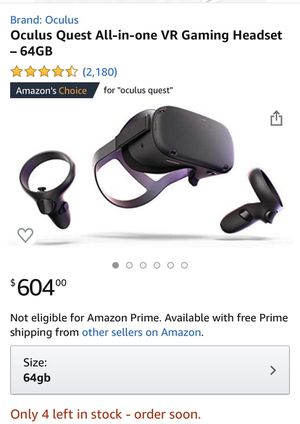 Oculus Quest 64gig for Sale in Las Vegas, NV