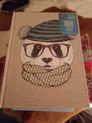 Panda journal 120 pages for Sale in Peoria, AZ