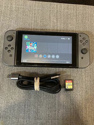 Nintendo Switch 32GB Console (Gray Joy-Cons) Bundle with Super Mario for Sale in Hoboken, NJ