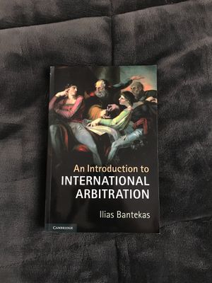 Introduction to International Arbitration - Ilias Bantekas for Sale in Erie, PA