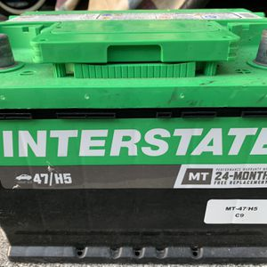 Inter estate Mt-47 H5 Battery Works Great for Sale in Pompano Beach, FL