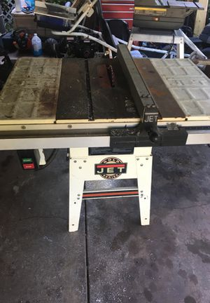 Jet gold series table saw band saw wet saw and another tile saw for Sale in Homosassa Springs, FL