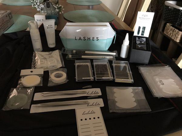 Borboleta Professional Eyelash Extension Kit for Sale in Sun City, AZ -  OfferUp