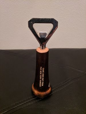 Authenticated New York Yankees Game Used Baseball Bat Knob Bottle Opener for Sale in TEMPLE TERR, FL