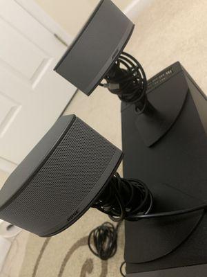 BOSE COMPANION 5 MULTIMEDIA SPEAKER SYSTEM - GRAPHITE/SILVER for Sale in Laurel, MD
