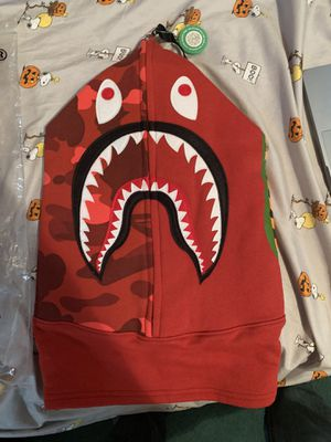 Bape red hood for Sale in Queens, NY