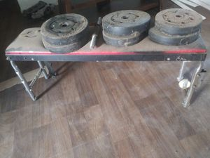 Weight bench and weights for Sale in Phoenix, AZ