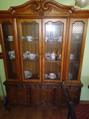 Antique china cabinet very nice for Sale in Mooresboro, NC