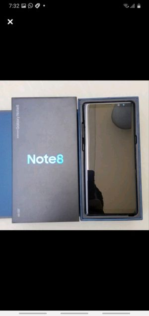 Samsung Galaxy Note 8 Unlocked like new for Sale in Queens, NY