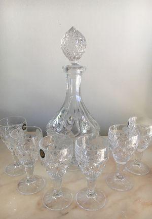 Liquor set 7 pieces for Sale in Los Angeles, CA