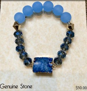 NWT Genuine Stone beautiful bracelet! Purchased for $50 for Sale in Las Vegas, NV