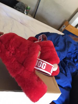 Red Ugg Slides for Sale in Columbus, OH