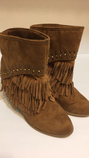 Women's fringe booties Size 8 for Sale in Largo, FL