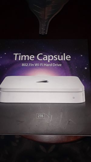 Time capsule 802.11in Wi-Fi hard drive for Sale in Dallas, TX