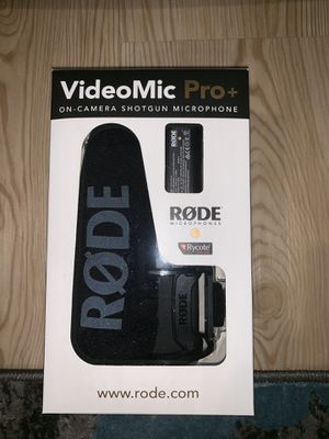 Rode Video Mic Pro+ for Sale in Baltimore, MD