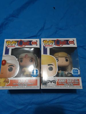 Pop Funko johny quest and hadji for Sale in Downey, CA