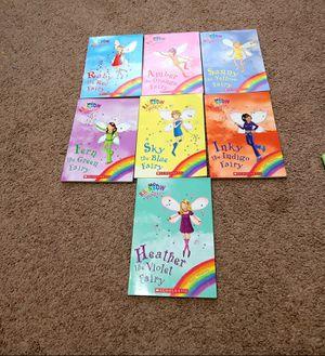 7 Rainbow magic fairy kids books for Sale in Spanaway, WA