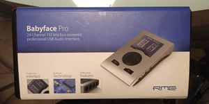 RME Babyface Pro 24 Channel USB Audio Interface for Sale in Mesa, AZ
