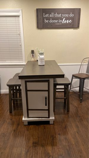 Grey rustic kitchen table for Sale in La Habra Heights, CA