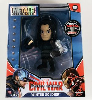 "The Winter Soldier Metals Die Cast Captain America 4"" Figure MARVEL Jada Toys for Sale in Fort Myers, FL"