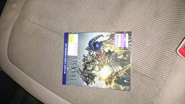 Transformers blue ray Age of extinction