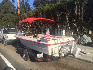 19' deep V runabout inboard ford 302 runs great lots of upgrades great family boat w/lots of extras 1950 for Sale in El Sobrante, CA