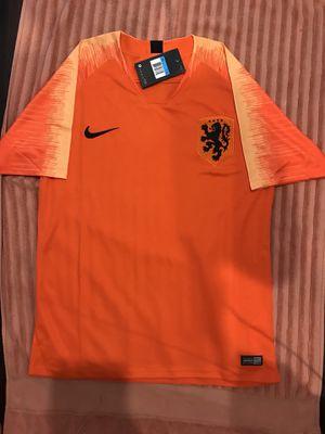 2019-20 Men's Netherland Home Short Shirt Orange Soccer Jersey for Sale in Sterling, VA