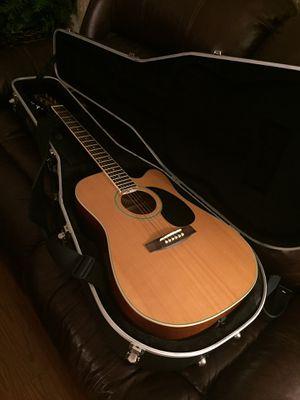 [Move Sale] Austin AU520 Acoustic Electric Guitar (with Hard Case) for Sale in Centreville, VA