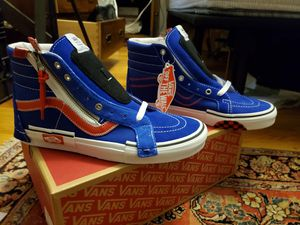 Van High Top Sneakers - Red White and Blue 9.5 Mens for Sale in New York, NY