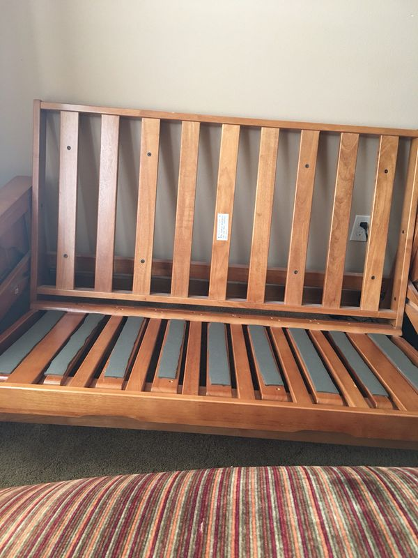 Futon , very good condition approx 62 W 70 long