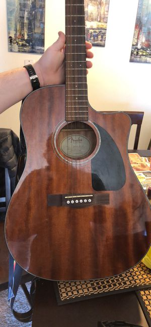 Fender electric acoustic guitar for Sale in Riverdale, IA