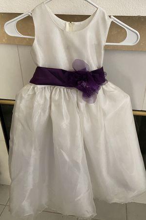 Girls flower girl dress for Sale in Montclair, CA