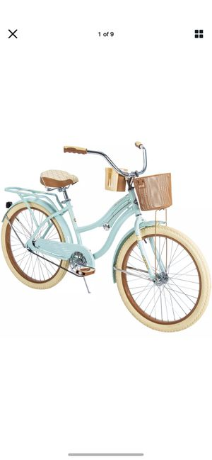 """Huffy Nel Lusso Classic Cruiser Bike Girl's Mint Green 24"""" BRAND NEW in box, Factory Sealed for Sale in Benicia, CA"""