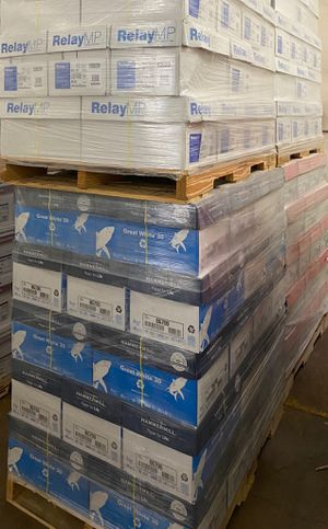 Pallets of copy paper for Sale in Dallas, TX