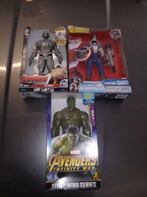 3 unopened Marvel Action Figures for Sale in Hudson, FL