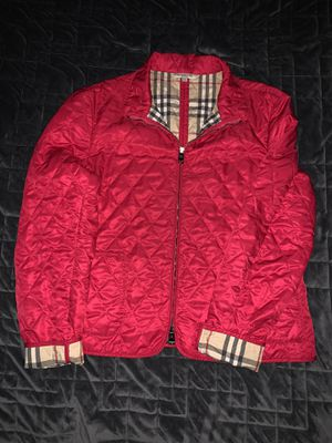 Burberry jacket size M for Sale in Whittier, CA