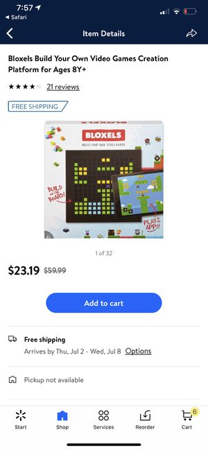 Bloxels Game for Sale in Odessa, TX