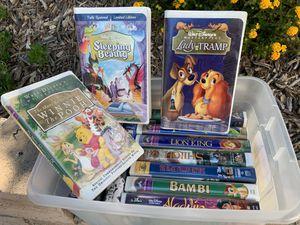 Disney VHS movies for Sale in San Fernando, CA