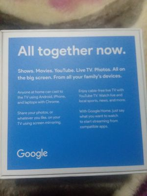 Google chromecast brand new for Sale in Chicago, IL