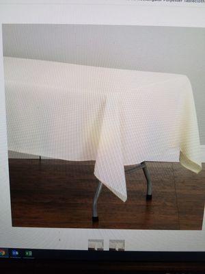 Manteles rectangulares color blanco for Sale in Phoenix, AZ