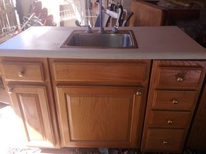 Kitchen sink and no cabinet for Sale in Virginia Beach, VA
