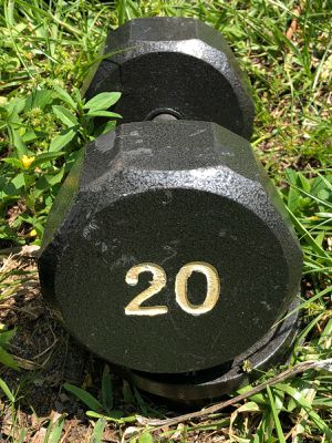 (ONE) 20 LB. DUMBBELL for Sale in Deerfield Beach, FL