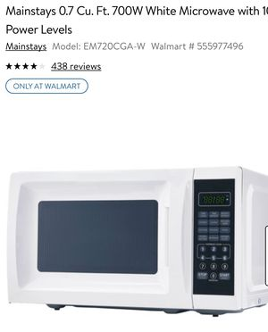 Mainstay Microwave for Sale in Alexandria, VA
