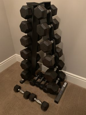 Dumbbell Set - Free Weights- Parabody Free Weight Set for Sale in Laguna Beach, CA