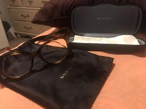 Gucci glasses with case & bag for Sale in Detroit, MI